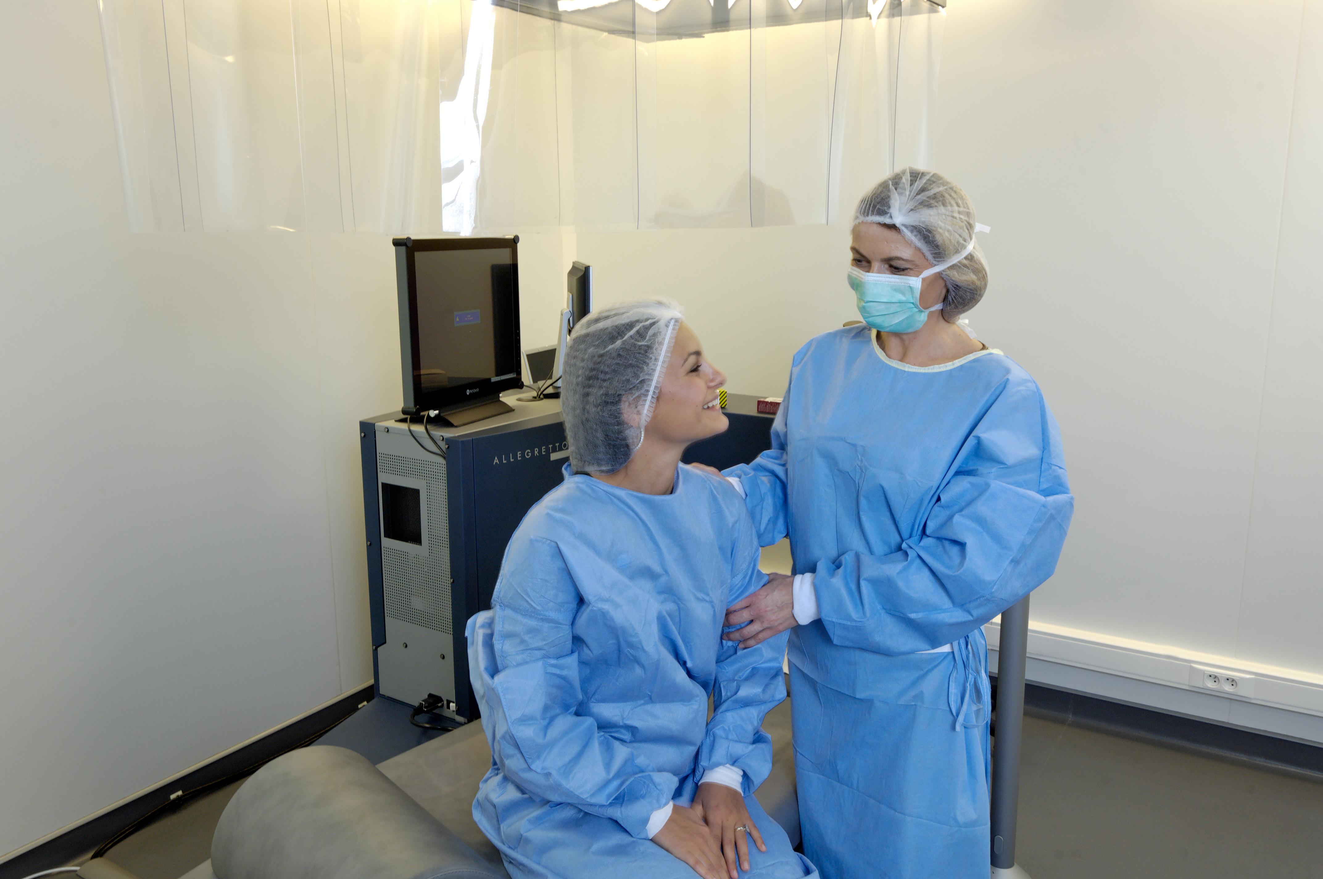 La chirurgie de la presbytie: le presbylasik